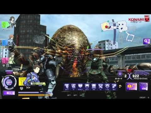 Giant Bugs Versus Heavy Armor In Japanese Arcades