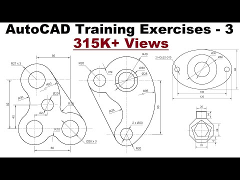 Autocad 2d Bolts And Nuts