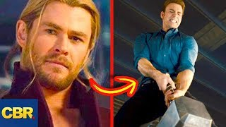 10 Superhero Characters Who've Lifted Thor's Hammer - Video Youtube