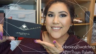 Unboxing|Swatching ABH Prism Palette