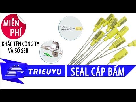huong dan cach su dung seal cap bam niem phong thung container
