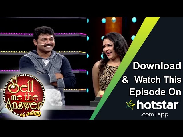 Hari Teja & Praveen at Sell Me The Answer – 9th October 2016 – Full Episode