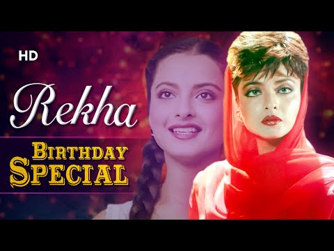 Superhit Scenes Of Rekha | Birthday Special | Best Bollywood Scenes