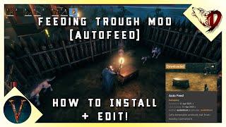 Feeding Trough Mod - Valheim AutoFeed How to Install and edit
