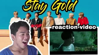 BTS (방탄소년단) 'Stay Gold' Official MV  REACTION VIDEO WITH ENGLISH SUBTITLE  PHILIPPINES