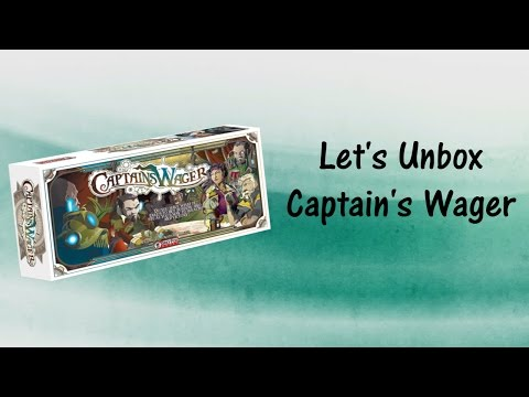 Let's Unbox Captain's Wager