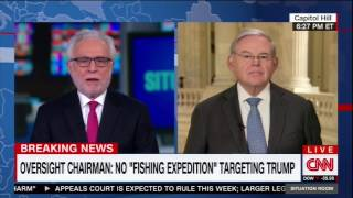Menendez on Trump tax returns, Gorsuch comments, Sessions