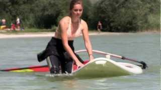 preview picture of video 'Surf - SUP Schule Ammersee'