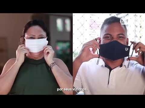 Quando você usa sua máscara, todo mundo se protege