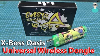 Universal Wireless Flight Simulator Adapter - X-Boss Oasis USB Dongle