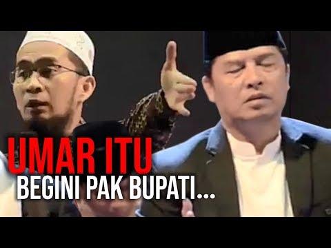 Didepan Bupati Bandung, Ust. Adi Cerita Tentang KHALIFAH UMAR. Lihat Reaksinya😵