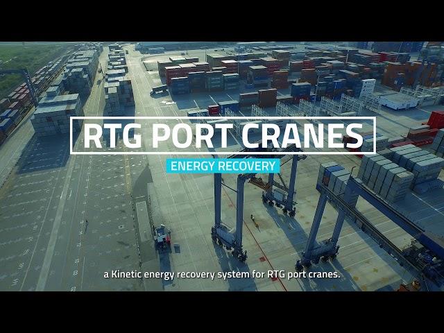 Industrial applications: port cranes