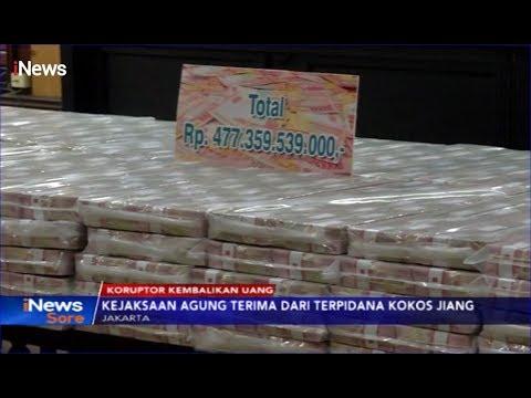 Kejagung Terima Uang Rp477 Miliar dari Koruptor Kelas Kakap, Kokos Jiang - iNews Sore 15/11