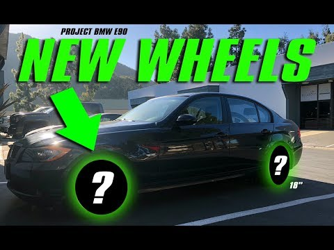 BMW E90 GETS NEW WHEELS! (+ EASY FREE UPGRADE!)