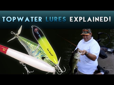 How to Pick the Best Topwater Lure for Bass Fishing | When and Why to use for ALL Types