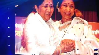 ASHA BHOSLE - Lag Jaa Gale live London