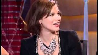 Milla Jovovich Interview On Russian TV (with Subtitles)