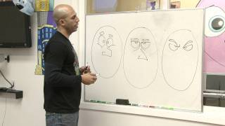 Drawing Cartoons with Emotion with Sirron Norris | KQED Arts