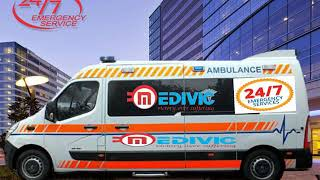 Get Ventilator Ambulance Service in Dhanbad- at Budget-Friendly