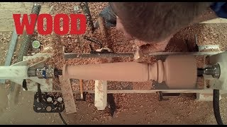 How To Turn A Wood Spindle  WOOD Magazine
