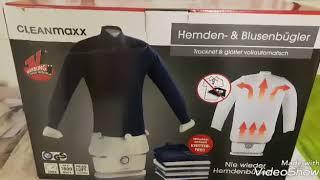 Wie gut ist er wirklich? Der Hemden- und Blusenbügler von Cleanmaxx im Test