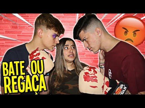 BATE OU REGAÇA ! Ft. Miin Borges, Matheus Martins, João Ferreira
