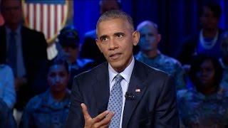 Obama Discusses Kaepernicks Anthem Protest