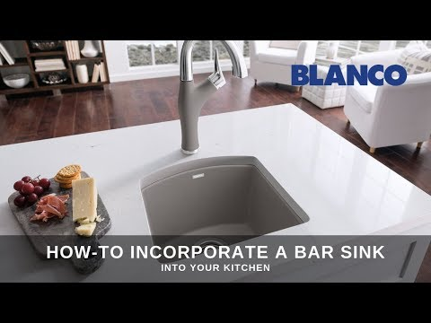 How-to incorporate a bar sink into your kitchen