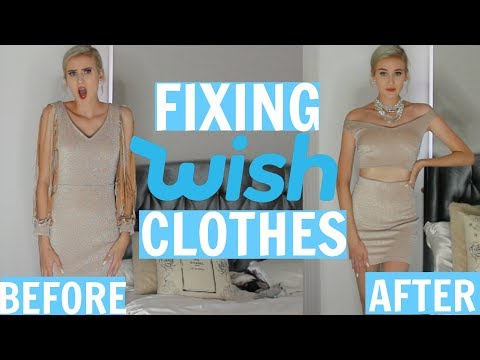 FIXING WISH CLOTHES…you guys wanted this – DIY WISH CLOTHES PT.2