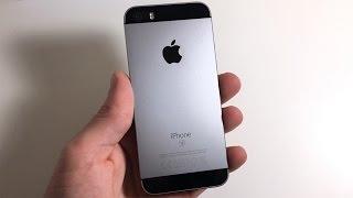 Распаковка iPhone SE 32GB
