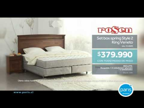 Mundo del descanso Box spring Rosen King