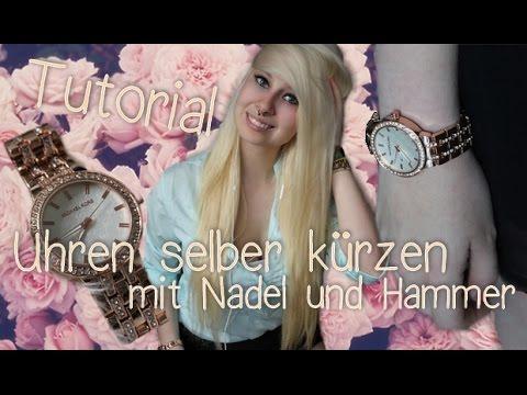 """Uhren einfach zuhause kürzen ohne """"Spezial""""-Werkzeug (german   deutsch)"""