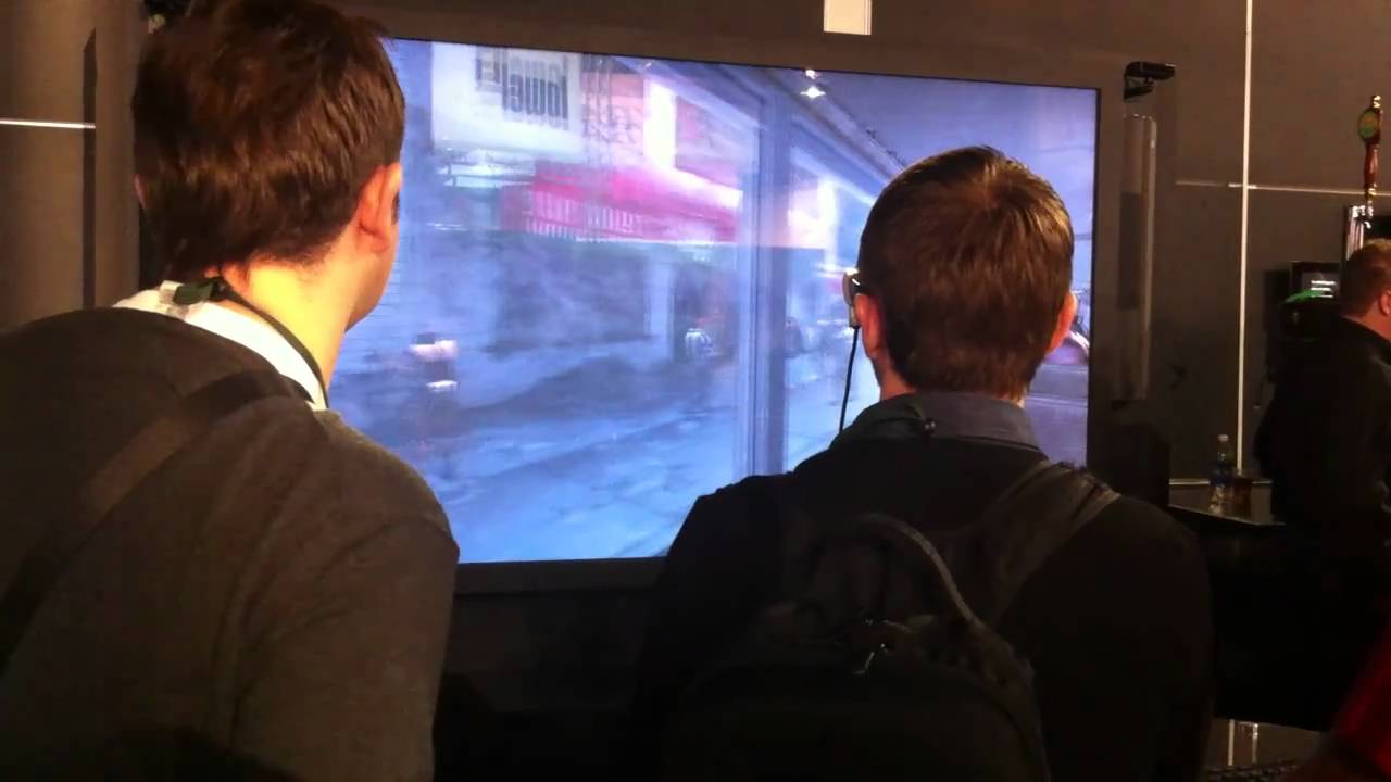 See Homefront Played On A 3D TV The Size Of An Apartment Wall