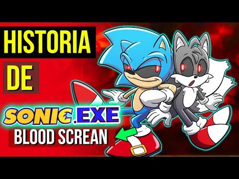 O FINAL DO SONIC EXE 😈| HISTORIA de Sonic.EXE Blood Scream