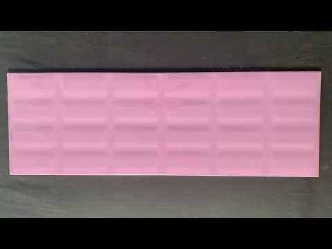 Płytka ścienna VIVID COLOURS violet pillow struktura błyszcząca 25x75 gat. II