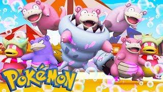 Slowking  - (Pokémon) - WHO'S YOUR FAMILY? MEGA SLOWBRO, SHINY SLOWKING E SHINY SLOWPOKE NO MINECRAFT ( Pixelmon )