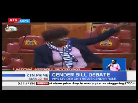 MPs continue to debate 2/3 gender principle bill, crucial vote next week
