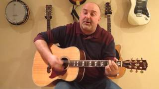 """Video thumbnail of """"How to Play Lukey's Boat - Great Big Sea (cover) - Easy 4 Chord Tune"""""""