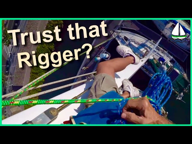 Fixing Sailboats -Can You Trust the Rigger? New headstay Inside Profurl, Sailboat How To Videos #21