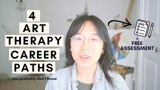 The 4 Art Therapy Career Paths You Can Take (+ Free Quiz To Find Which Is The Best Fit For You)