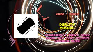 KUURO - Swarm VS Gareth Emery & Standerwick - Saving Light (INTERCOM Remix) ~ [Duality Mashup]