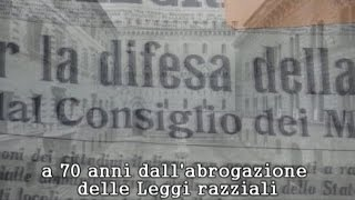 preview picture of video '1938-1944 La politica razziale del regime fascista a Siena'