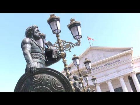 Σκόπια: Διαφθορά πίσω από τα περίφημα αγάλματα