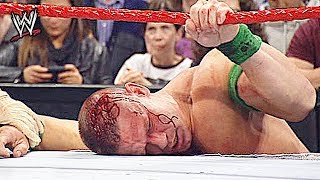 10 Times WWE Wrestlers Got Knocked Out Cold