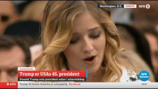 Jackie Evancho - The Star-Spangled Banner (Trump Inauguration Day 2017)