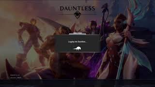Dauntless  yeet