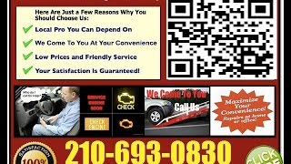 Best Mobile Mechanic San Antonio Auto Car Repair Service Technician Shop Near Me
