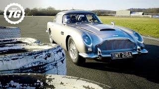 StigCam: Sideways in an Aston Martin DB5 Bond Stunt Car | Top Gear