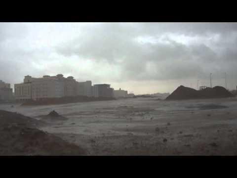 امطار جدة بداية العاصفة: ابو يزيد