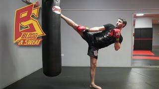 Прикладные комбинации тайского бокса от чемпиона мира